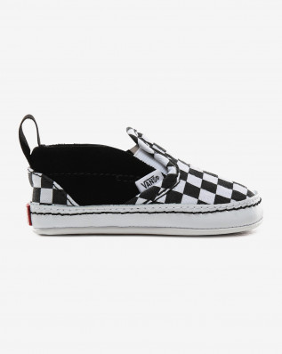 IN Slip-On V Crib (Checker) Black