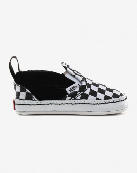 detail IN Slip-On V Crib (Checker) Black