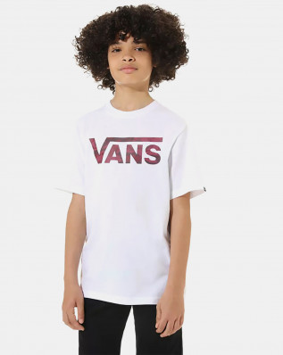 BY VANS CLASSIC LOGO WHITE/PORT R, Small