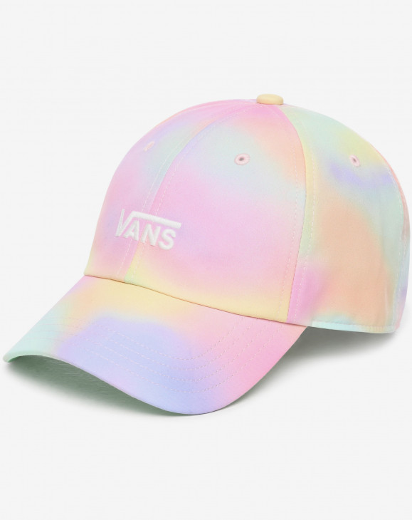 detail COURT SIDE PRINTED HAT AURA WASH