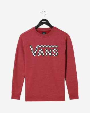BY VANS CLASSIC CREW BIKING RED HTHE