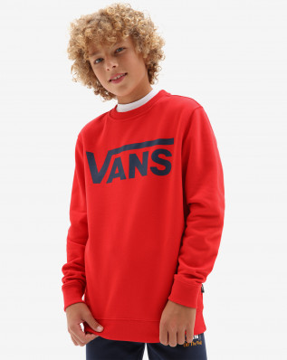BY VANS CLASSIC CREW HIGH RISK RED/D