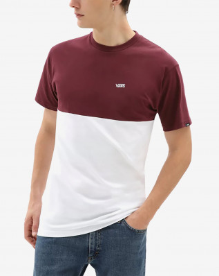 MN COLORBLOCK TEE PORT ROYALE/WHI