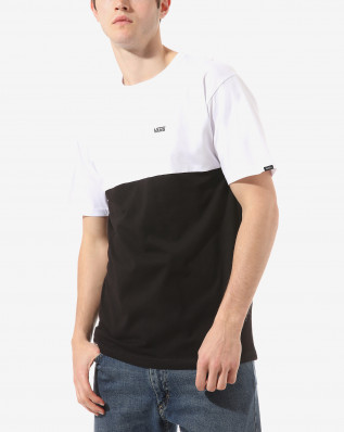 MN COLORBLOCK TEE Black/White