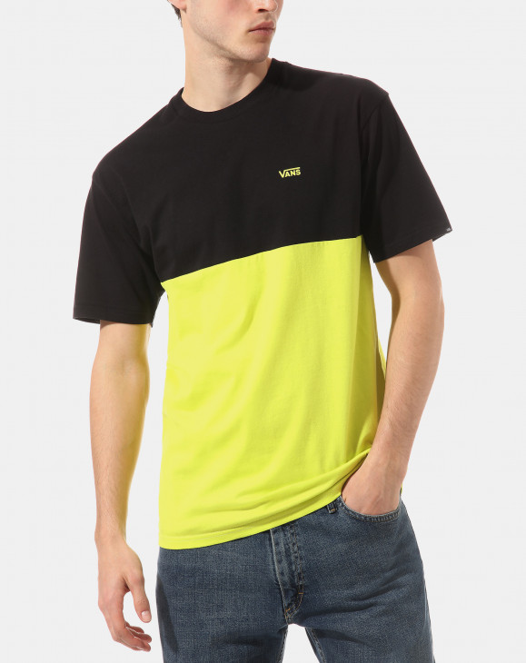 detail COLORBLOCK TEE SULPHUR SPRING-BLACK