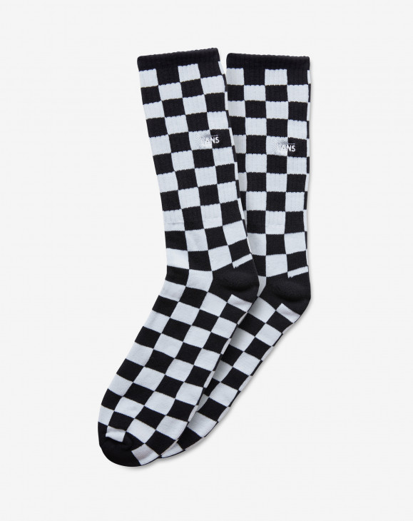 detail MN CHECKERBOARD CREW Black/White Che