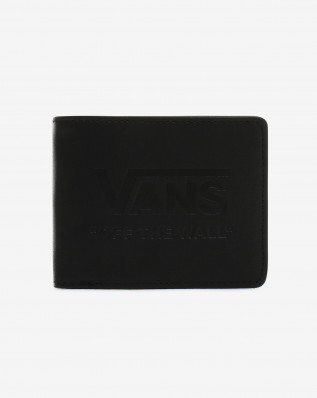 MN VANS LOGO WALLET Black