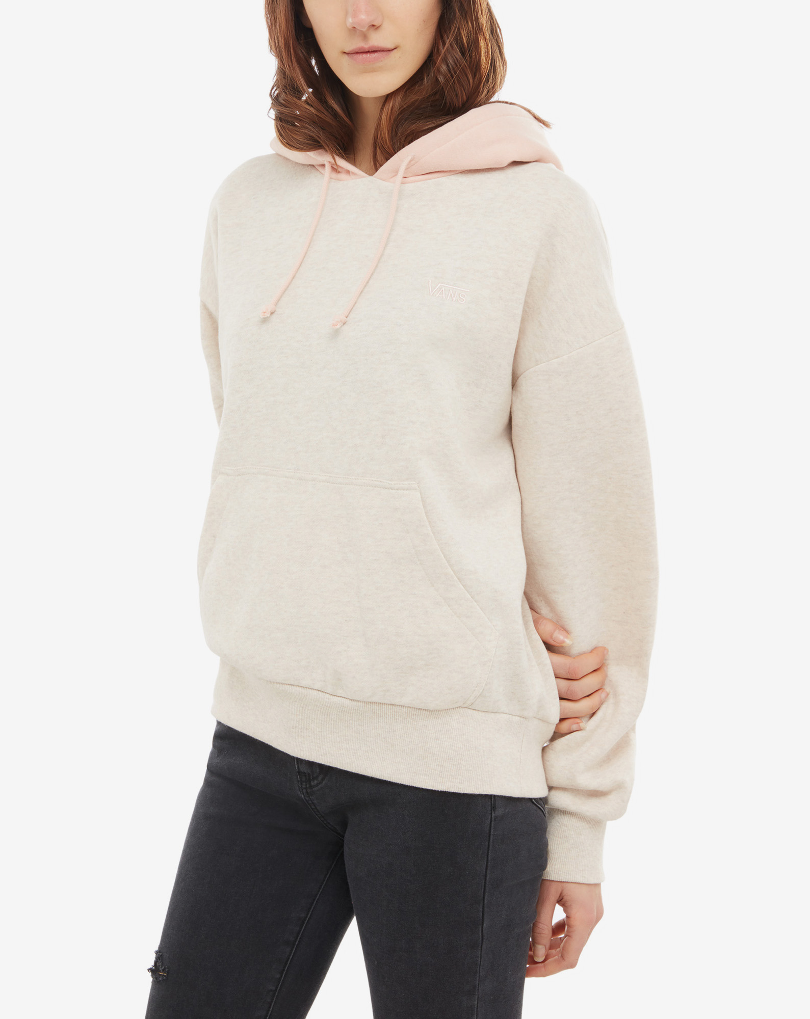 WM ROAD BLOCK HOODIE SAND DOLLAR/