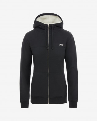WM STEALTH ZIP HOODI Black