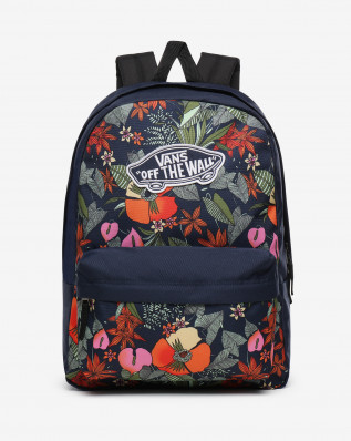 REALM BACKPACK MULTI TROPIC DRESS BLUES
