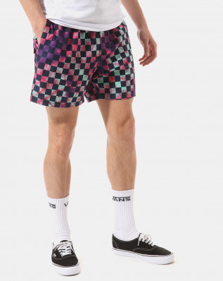 MIXED VOLLEY TIE DYE CHECK