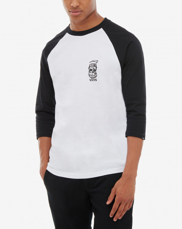 detail MN MOONSHINE RAGLAN White/Black