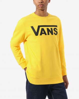 MN VANS CLASSIC CREW Lemon Chrome