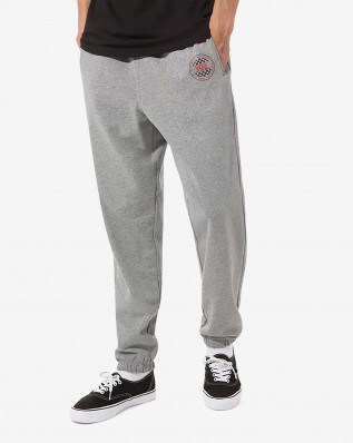 OG CHECKER FLEECE PANT CEMENT HEATHER