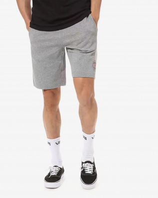 OG CHECKER FLEECE SHORT CEMENT HEATHER