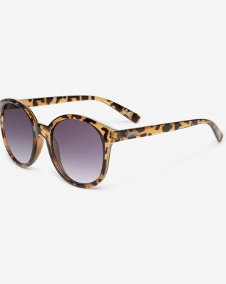 RISE AND SHINE SUNGLASSES TORTOISE-GRADIENT SMOKE LENS