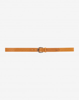 ALLOVER KABEL BELT COGNAC