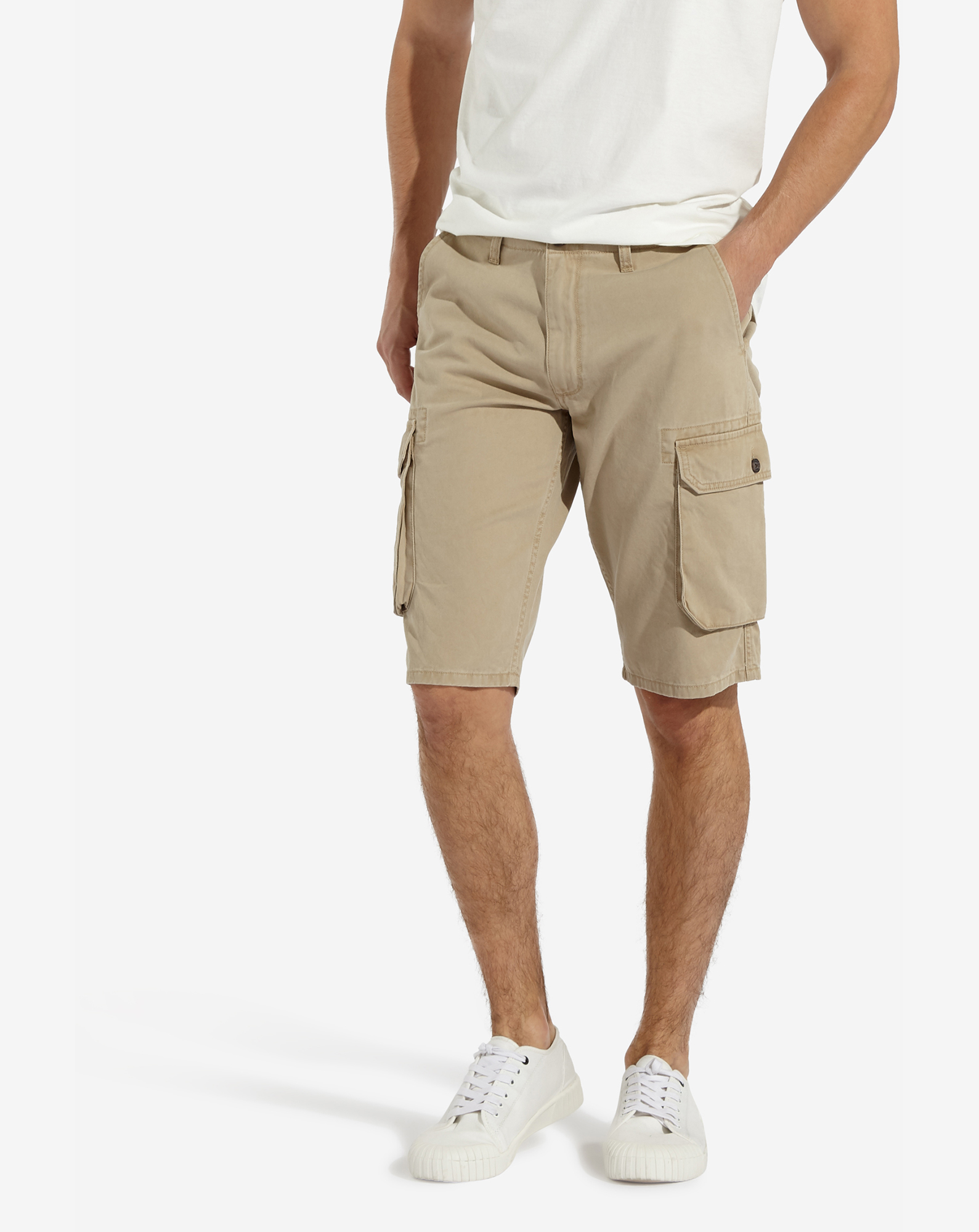 detail CARGO SHORT CORNSTALK
