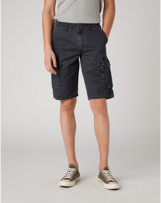 CARGO SHORT FADED BLACK