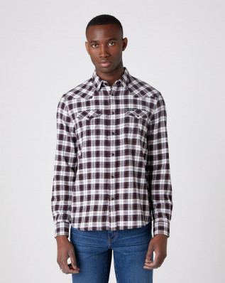 LS WESTERN SHIRT BLACK