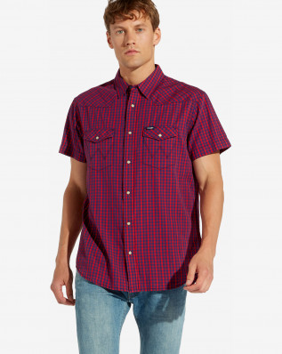 SS WESTERN SHIRT HIGH RISK RED