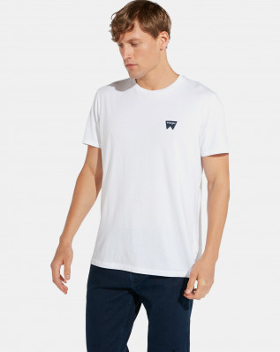 SS SIGN OFF TEE WHITE