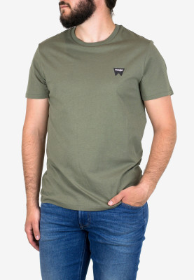 SS SIGN OFF TEE DUSTY OLIVE