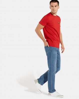 SS SIGN OFF TEE SCARLET RED