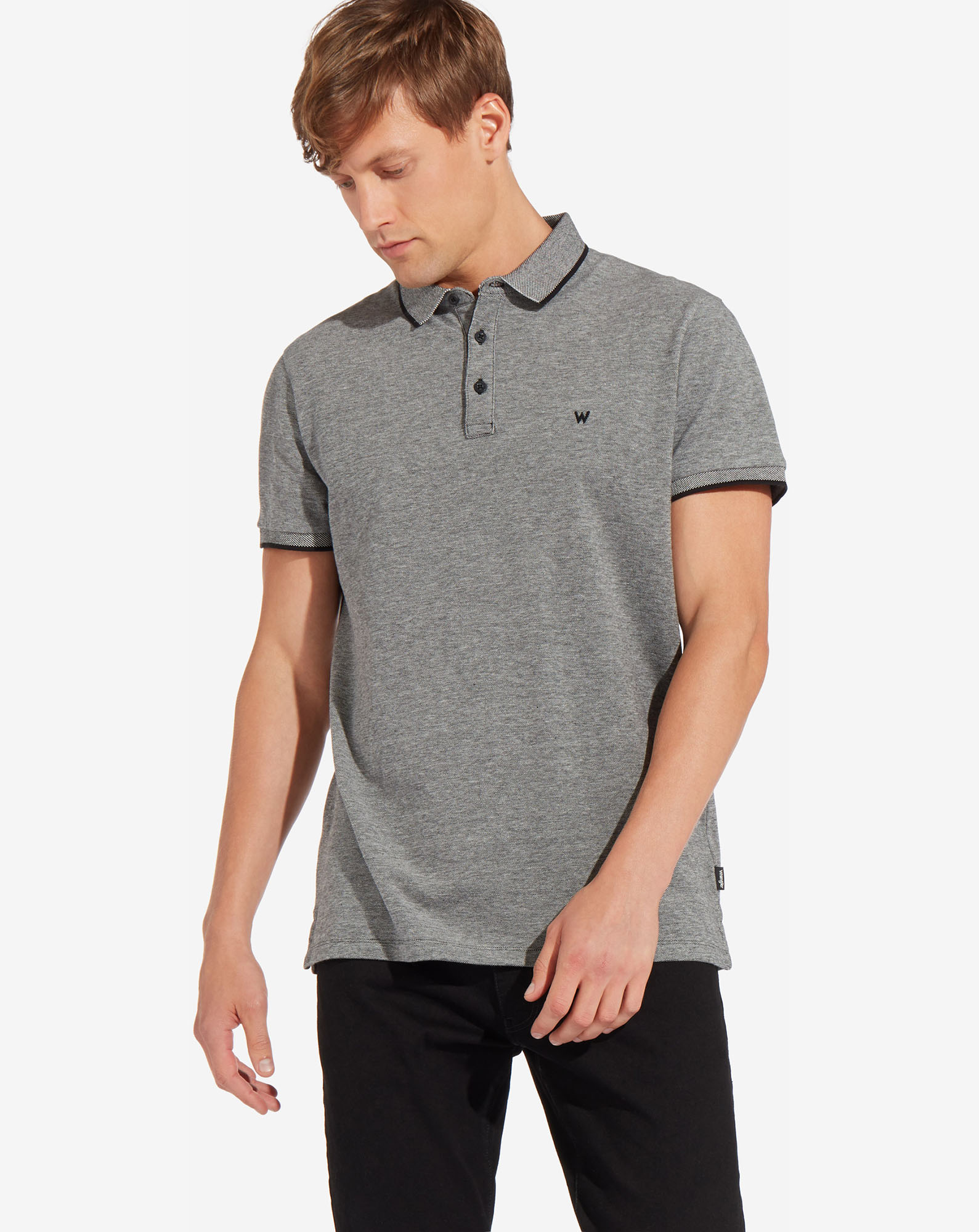 REFINED POLO BLACK