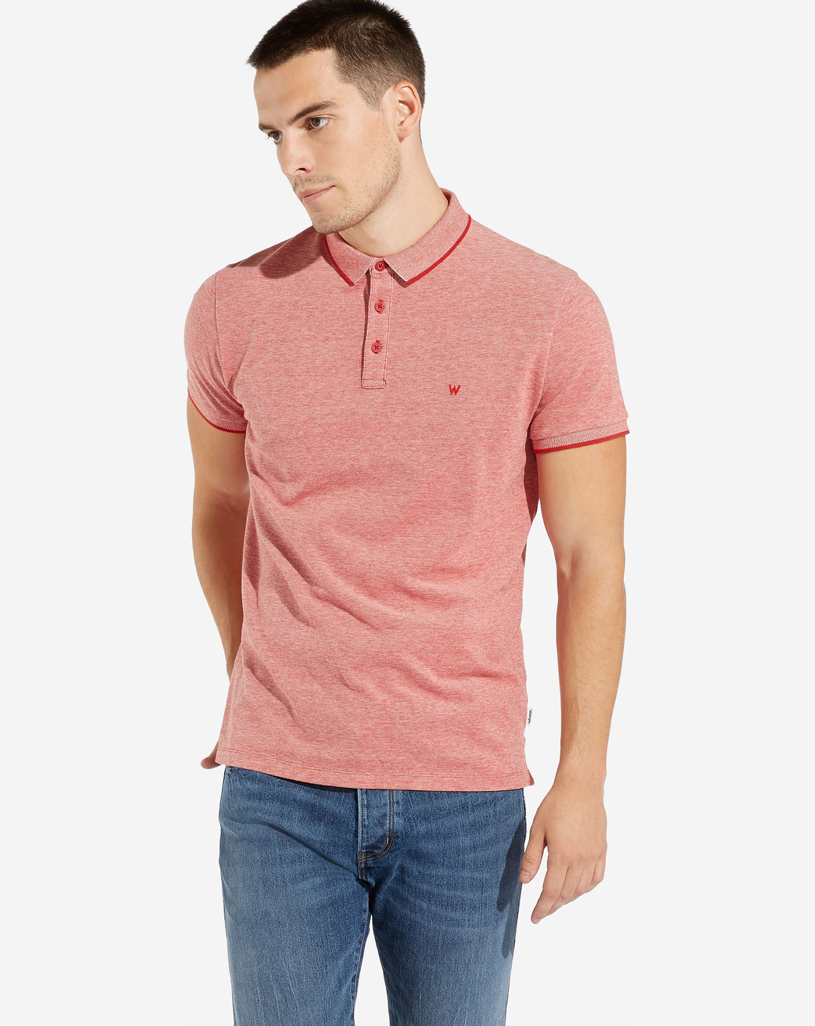 REFINED POLO SCARLET RED