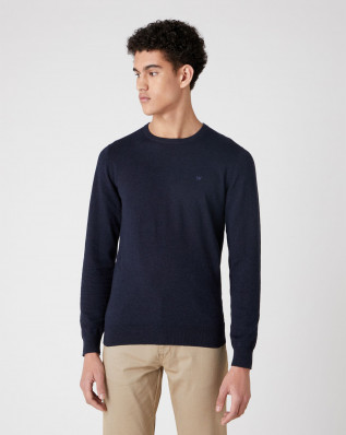 CREW KNIT DARK NAVY